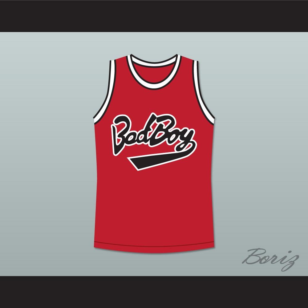Biggie Smalls 10 Bad Boy Basketball Jersey New 4f6308b59