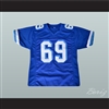 Billy Bob 69 West Canaan Coyotes Football Jersey Varsity Blues