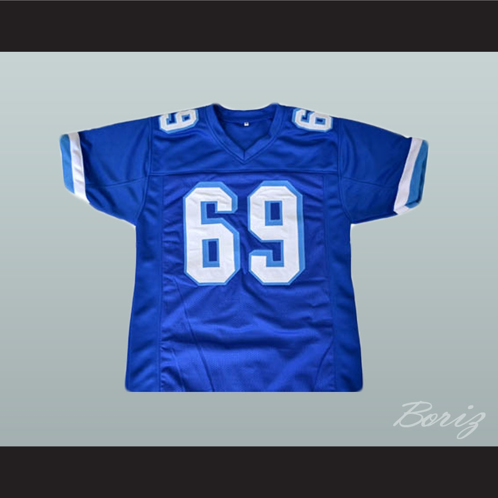 sale retailer 39db7 16ca8 Billy Bob 69 West Canaan Coyotes Football Jersey Varsity Blues