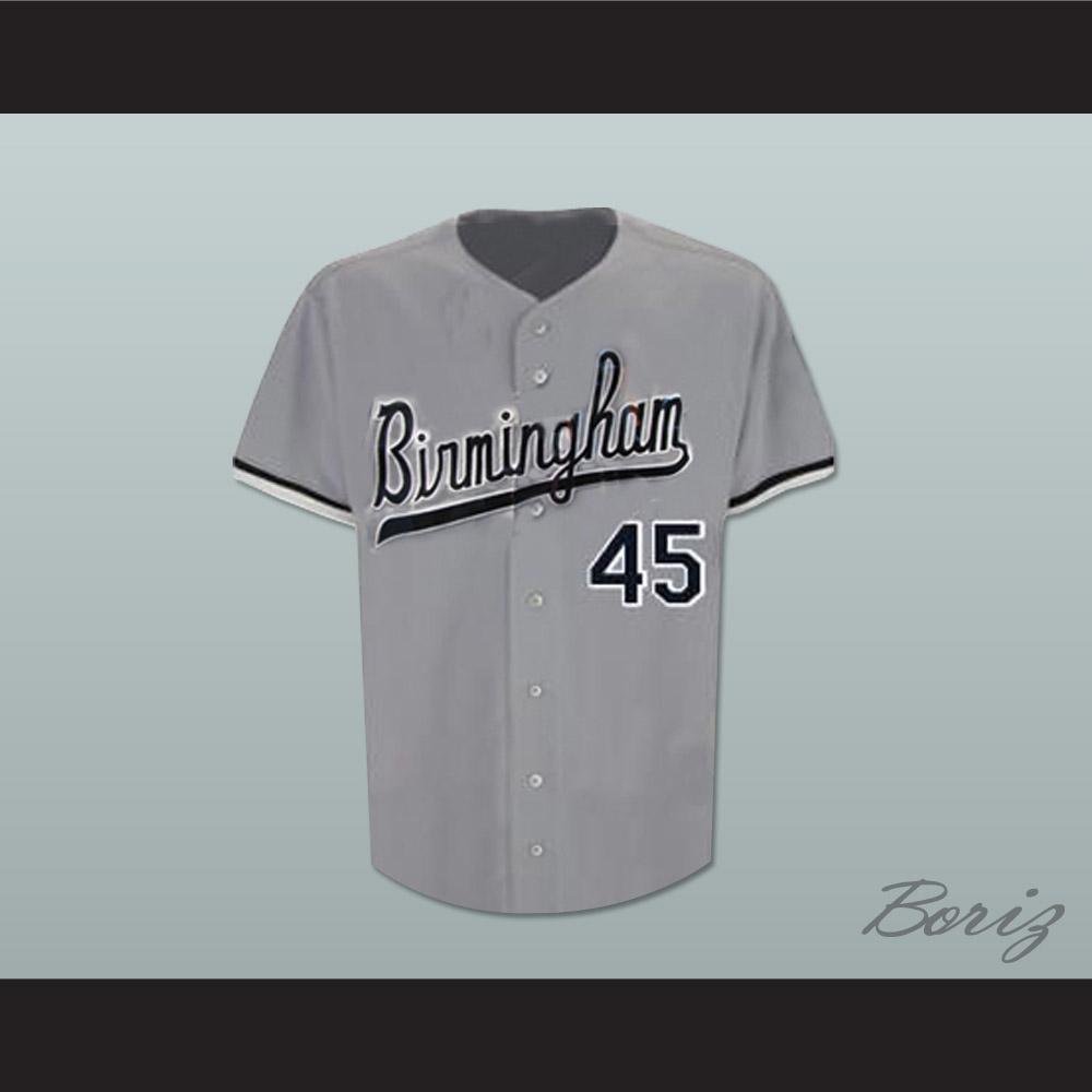 best website 88373 4bed3 Michael Jordan 45 Birmingham Barons Baseball Jersey Stitch Sewn New
