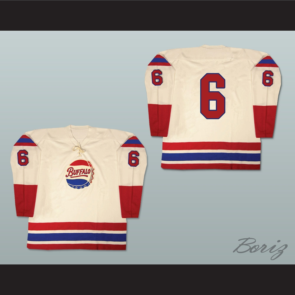 f5a65c1ef95 Buffalo Bisons Old School Hockey Jersey