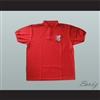 Danny Noonan Bushwood Country Club Polo Shirt Golf Caddy Uniform