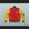 Clark Kent Smallville Crows High School Varsity Letterman Jacket-Style Sweatshirt