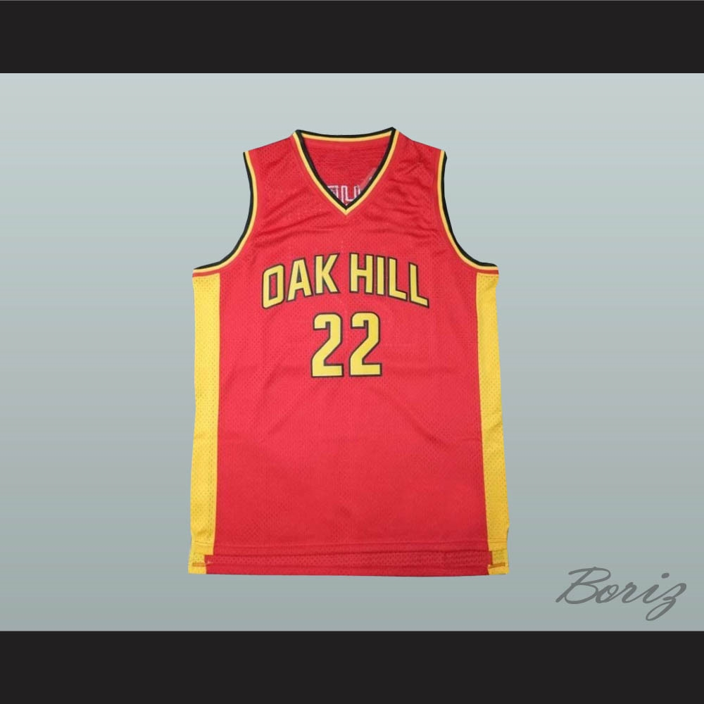 new styles 5dd50 7582d Carmelo Anthony Oak Hill Academy Basketball Jersey Stitch Sewn