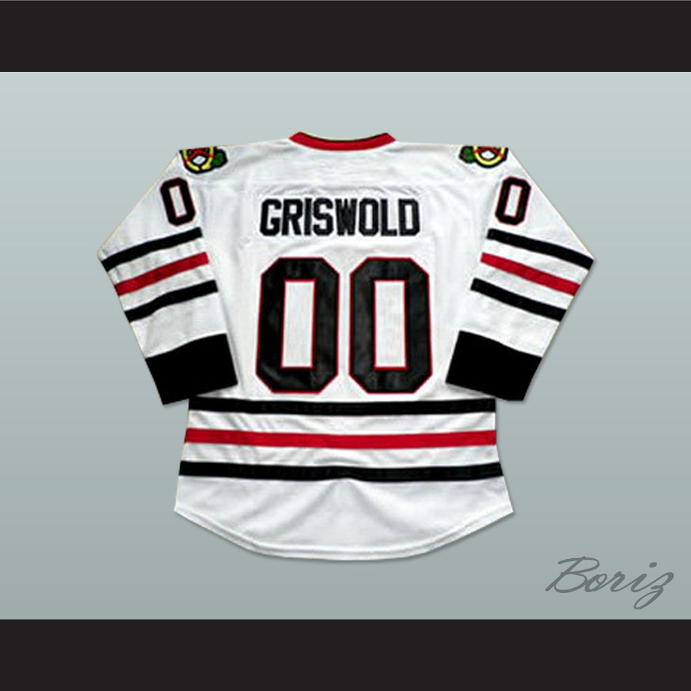 Clark Griswold Chicago Hockey Jersey Christmas Vacation Chevy ... 5e8460642c9