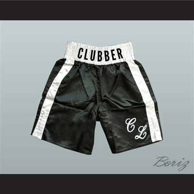 Mr T Clubber Lang Rocky Movie Boxing Shorts All Sizes