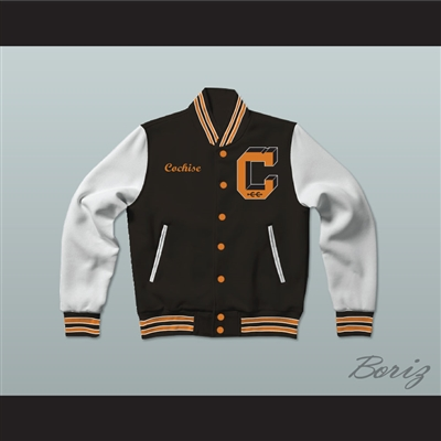Lawrence Hilton-Jacobs Cochise Cooley High School Varsity Letterman Jacket-Style Sweatshirt