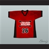 Crooked Arrows Tyler Hill Silverfoot Lacrosse Jersey