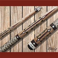 Boriz Billiards Pool Cue Stick Classic Style Serpent Skin AB 110