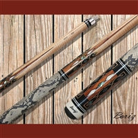 Boriz Billiards Pool Cue Stick Classic Style Serpent Skin AB 169