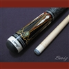 Boriz Billiards Linen Grip Pool Cue Stick Original Inlay Artwork
