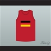 David Hasselhoff 82 German Blitzkrieg Dodgeball Jersey