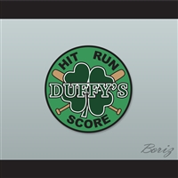 Set of 5 Duffy's 4 Leaf Clover Hit-Run-Score Patches Hardball Kekambas