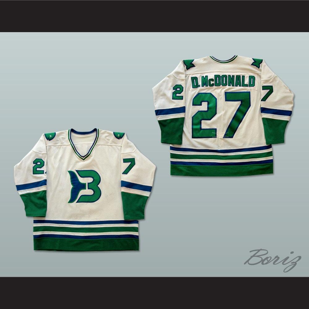 Binghamton Whalers Dave McDonald Hockey Jersey 9c8f3a988