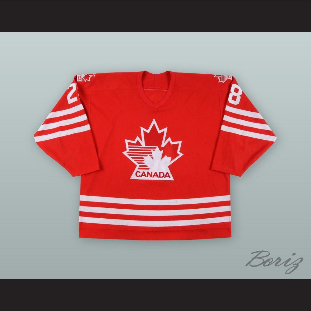 David Harlock 28 Canada National Team Red Hockey Jersey