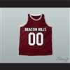 Derek Hale 00 Beacon Hills Basketball Jersey Teen Wolf