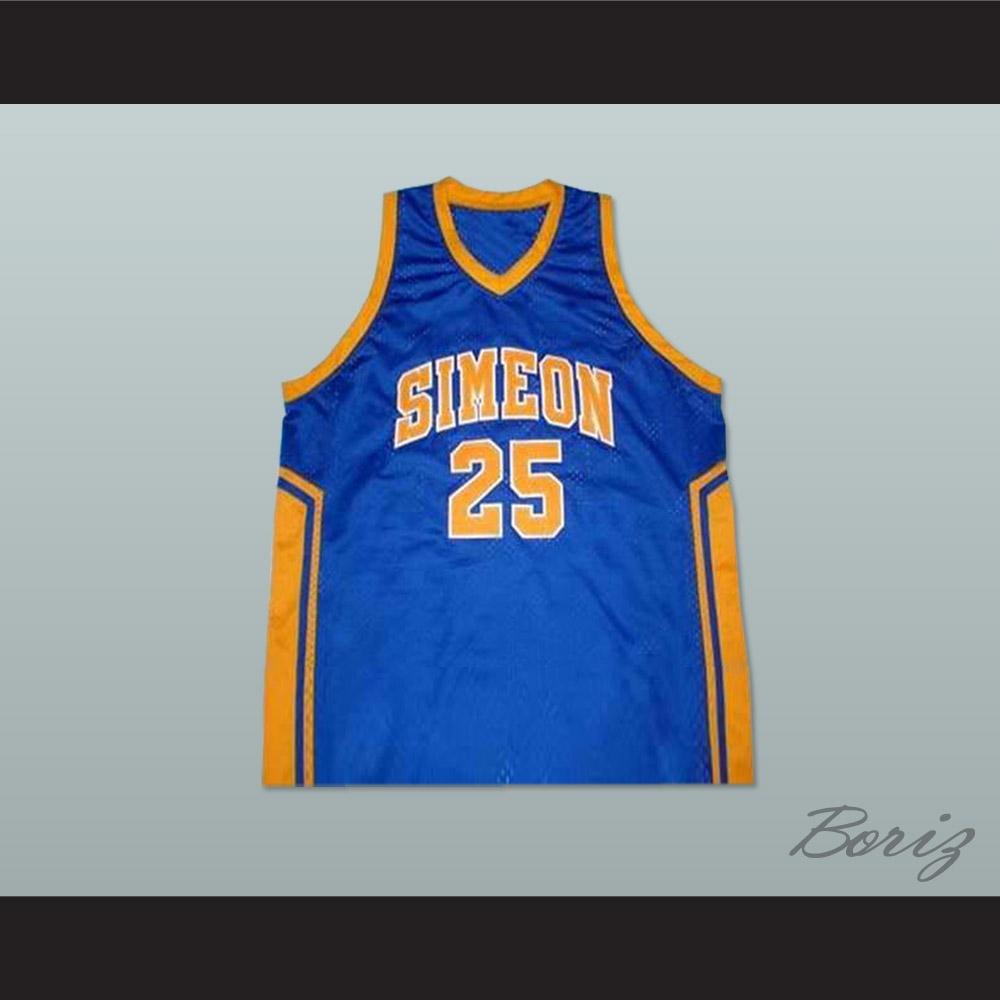 1aafb31de69e Derrick Rose Simeon High School Basketball Jersey