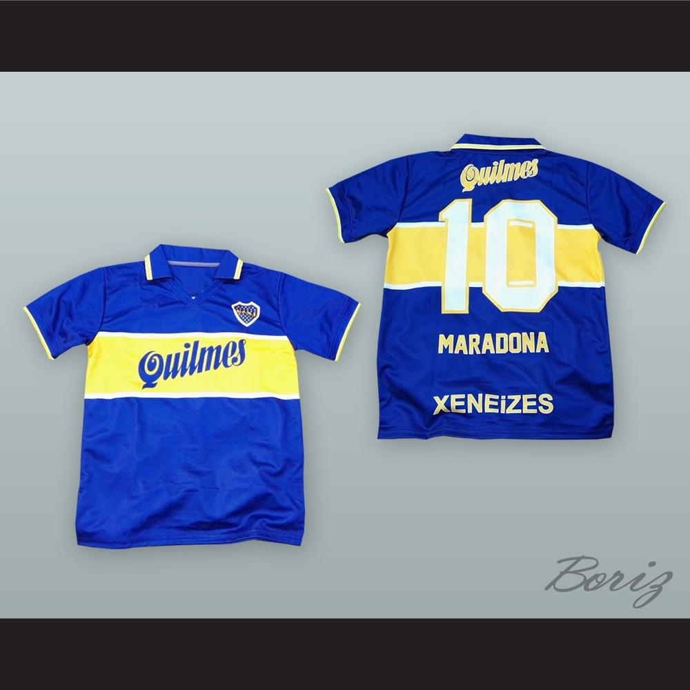promo code e8fb3 68884 Diego Maradona 10 C.A. Boca Juniors Soccer Jersey