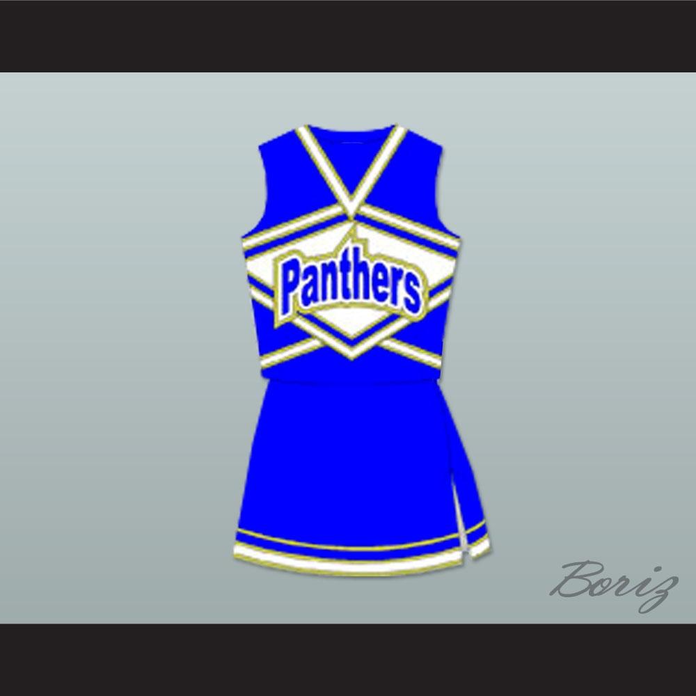 Friday Night Lights Lyla Garrity (Minka Kelly) Dillon Panthers High School Cheerleader Uniform Stitch Sewn  sc 1 st  Movie Sports Jerseys & Friday Night Lights Lyla Garrity (Minka Kelly) Dillon Panthers High ...
