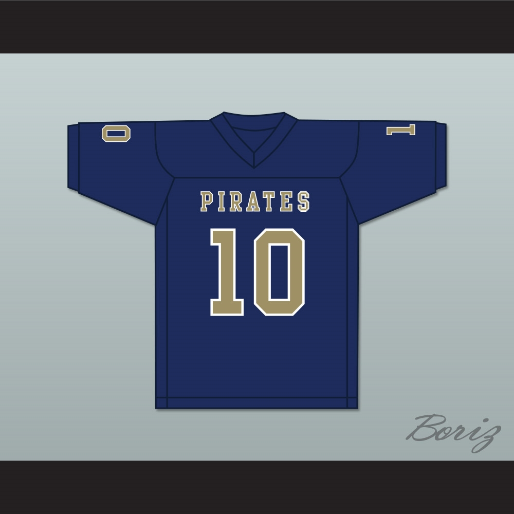9d7d0388e01 Drake Smith 10 Independence Community College Pirates Dark Blue ...