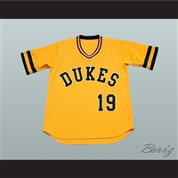 Jason Priestley Brandon Walsh Dukes 19 Baseball Jersey Stitch Sewn New