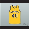 Randy Moss 40 Dupont High School Panthers Basketball Jersey
