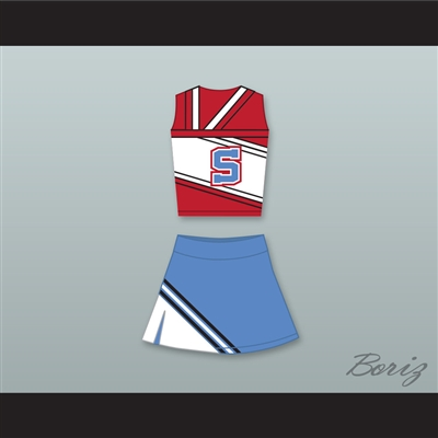 The East-West Coast Shets Cheerleader Uniform Bring It On: In It to Win It Design 1