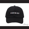 Enemies Black Baseball Hat