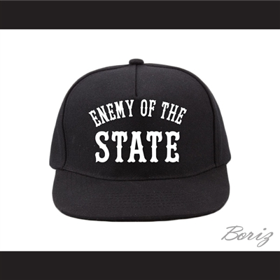 Enemy of the State Black Baseball Hat