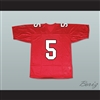 Finn Hudson 5 William Mckinley High School Football Jersey