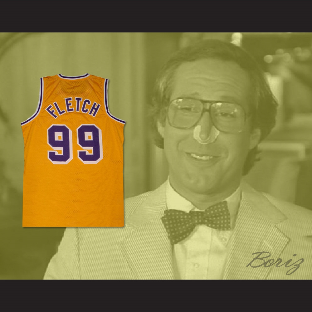 541d9293ee2 Chevy Chase Irwin  Fletch  Fletcher 99 Basketball Jersey