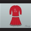 Jennifer Aniston Rachel Green High School 3/4 Sleeve Cheerleader Uniform Friends