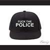Fuck The Police Black Baseball Hat
