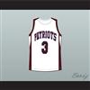 Shad Moss Gary Davis John Ehret High School Patriots Basketball Jersey Hurricane Season