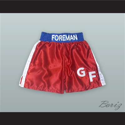 George Foreman Red Boxing Shorts