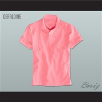 Men's Solid Color Geraldine Polo Shirt