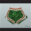 Green-Orange-White Retro Style Basketball Shorts