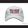 Hillman College White Baseball Hat A Different World