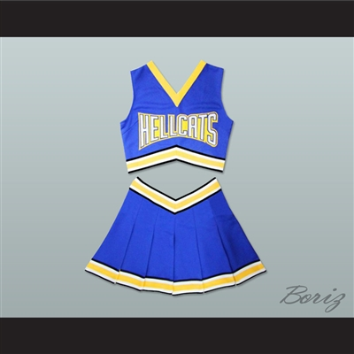 Lancer University Hellcats Cheerleader Outfit Stitch Sewn