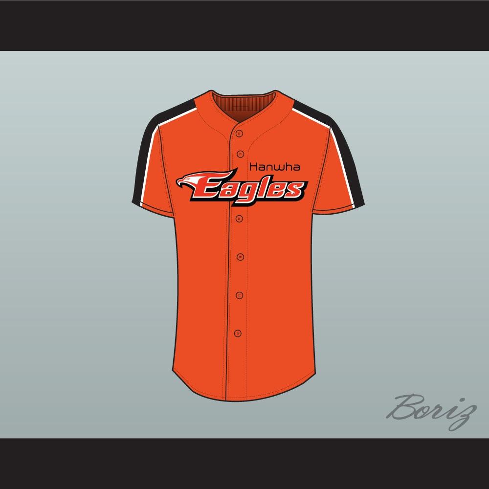 size 40 9feef e1dff Hyun-jin Ryu Hanwha Eagles 99 Baseball Jersey