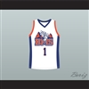 Harmon Tedesco 1 Blue Mountain State Goats Basketball Jersey