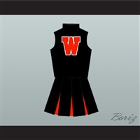 Heathers Heather McNamara (Lisanne Falk) Westerburg High School Cheerleader Uniform Stitch Sewn
