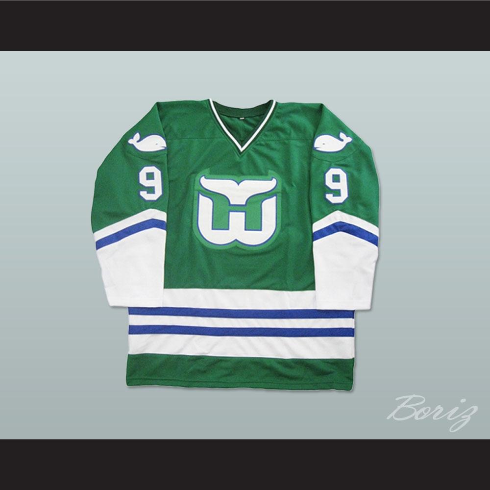 Gordie Howe Hartford Whalers Hockey Jersey fd5993de7