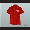 Ricky Bobby Hugalo's Pizza Logo 1 Red Polo Shirt