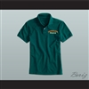 Ricky Bobby Hugalo's Pizza Logo 2 Dark Green Polo Shirt