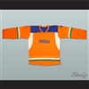 India National Team Orange Hockey Jersey