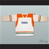 India National Team White Hockey Jersey
