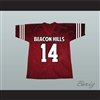 Isaac Lahey 14 Beacon Hills Cyclones Lacrosse Jersey Teen Wolf