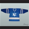 Israel National Team Blue Hockey Jersey