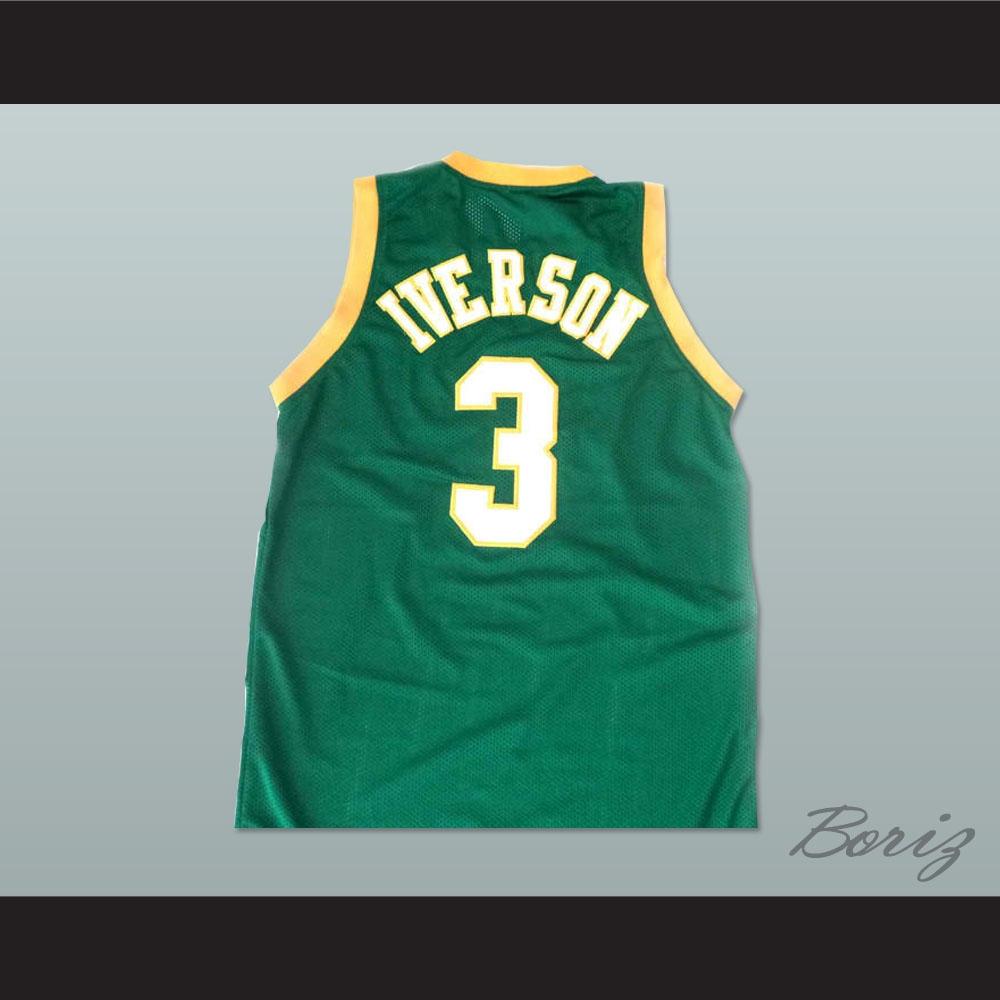 9203b627bcd Allen Iverson Bethel High School Basketball Jersey